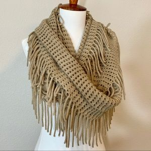 BP Fringed Infinity Scarf